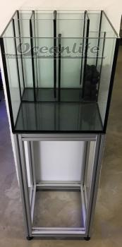 160x50x50 Aquarium 12mm mit Stegen (400 Liter)