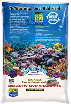 Nature's Ocean Live Natural White Sand 0.1-0.5mm 9,07 kg