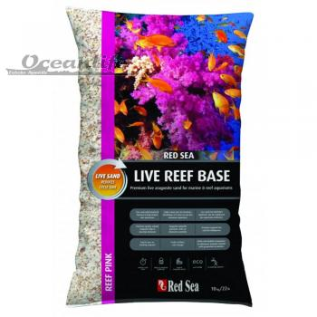Red Sea Live Reef Base 0,25-1,00 mm Reef Pink 10 kg